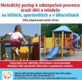 Metodický postup k zabezpečení prevence úrazů dětí a mládeže